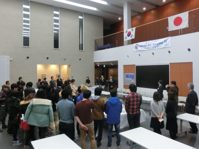 韓国交通大学校から学生訪問団が...